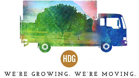 HDG is moving