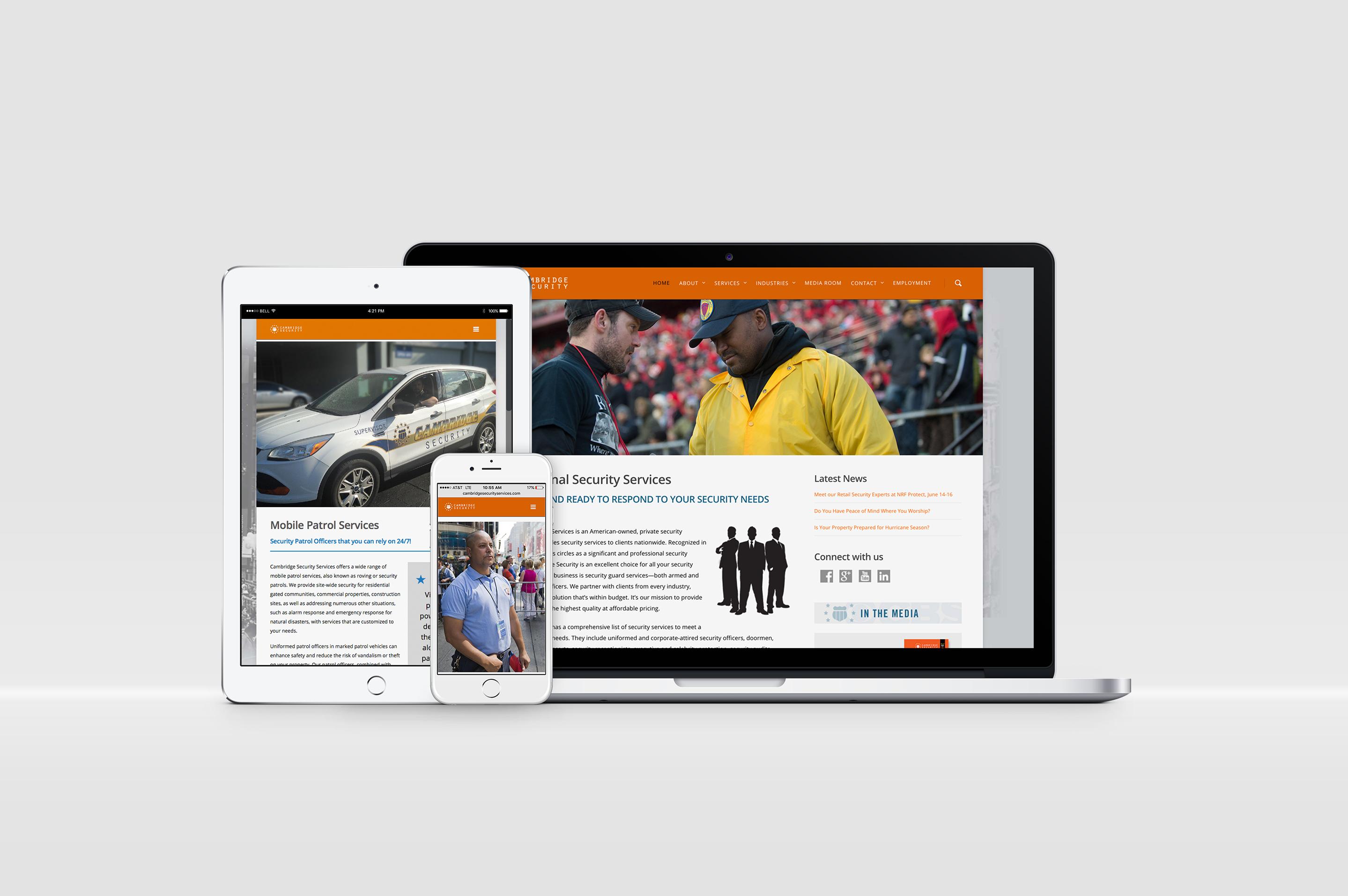 Cambridge Security Website